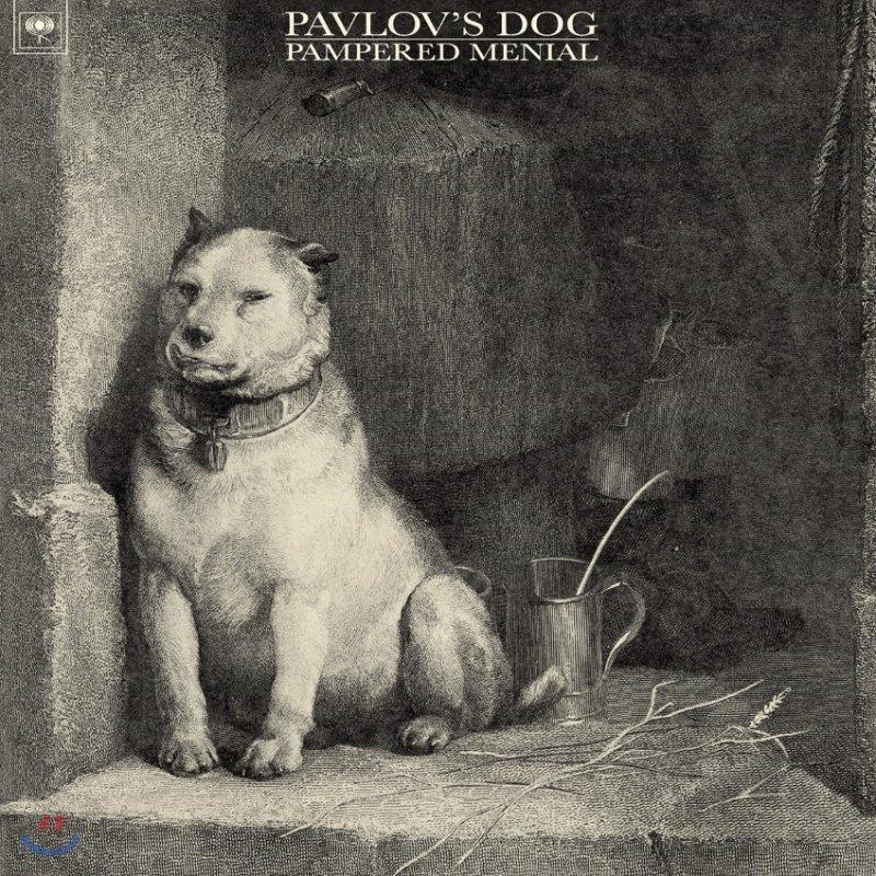 Pavlov's Dog - 1집 Pampered Menial [투명 & 블랙 마블 컬러 LP]