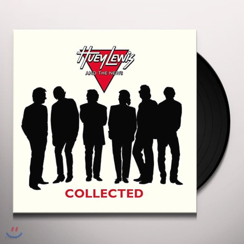 Huey Lewis and the News (휴이 루이스 앤 더 뉴스) - Collected [실버 컬러 LP]