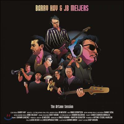Barry Hay & JB Meijers (배리 헤이 & JB 메이저스) - The Artone Session [10인치 Vinyl]