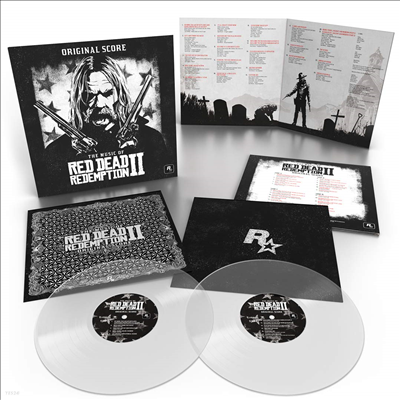 O.S.T. - Music Of Red Dead Redemption 2 (레드 데드 리뎀션 2) (Original Video Game Soundtrack)(Score)(Colored 2LP)