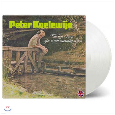 Peter Koelewijn - The Best I Can Give Is Still Unworthy Of You [화이트 컬러 LP]
