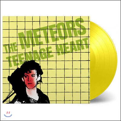 The Meteors (미티어스) - Teenage Heart [옐로우 컬러 LP]