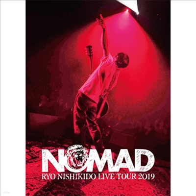 "Nishikido Ryo (니시키도 료) - Live Tour 2019 ""Nomad"" (2Blu-ray+Photobook) (초회한정반)(Blu-ray)(2020)"