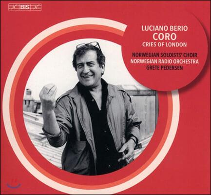 Grete Pedersen 루치아노 베리오: 코로, 런던의 외침 (Luciano Berio: Coro, Voices of London)