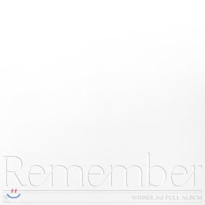 위너 (WINNER) 3집 - Remember [YOU ver.]