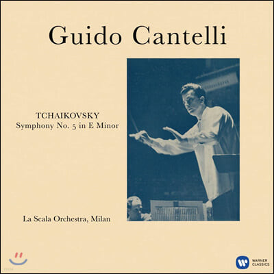 Guido Cantelli 차이코프스키: 교향곡 5번 - 귀도 칸텔리 (Tchaikovsky: Symphony Op.64) [LP]