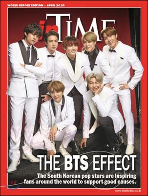 Time for Kids (월간) 4단계 - Korean Ed. (영문판) 2020년 04월 : BTS (방탄소년단) 커버