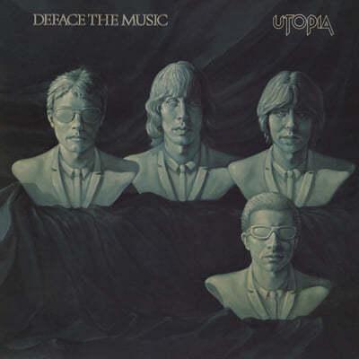 Utopia (유토피아) - Deface The Music [실버 컬러 LP]