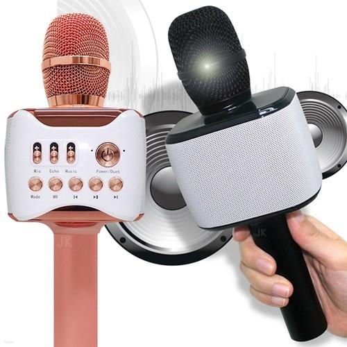 듀엣가능 무선 휴대용 노래방마이크 스피커 GNI-105