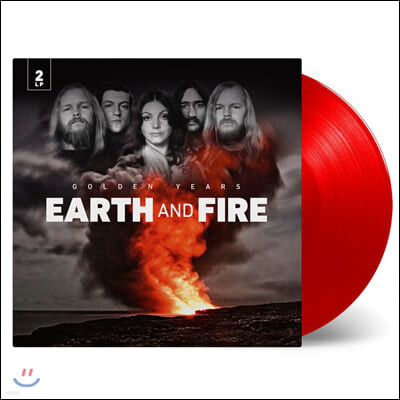 Earth And Fire (어스 앤 파이어) - Golden years [투명 레드 컬러 LP]