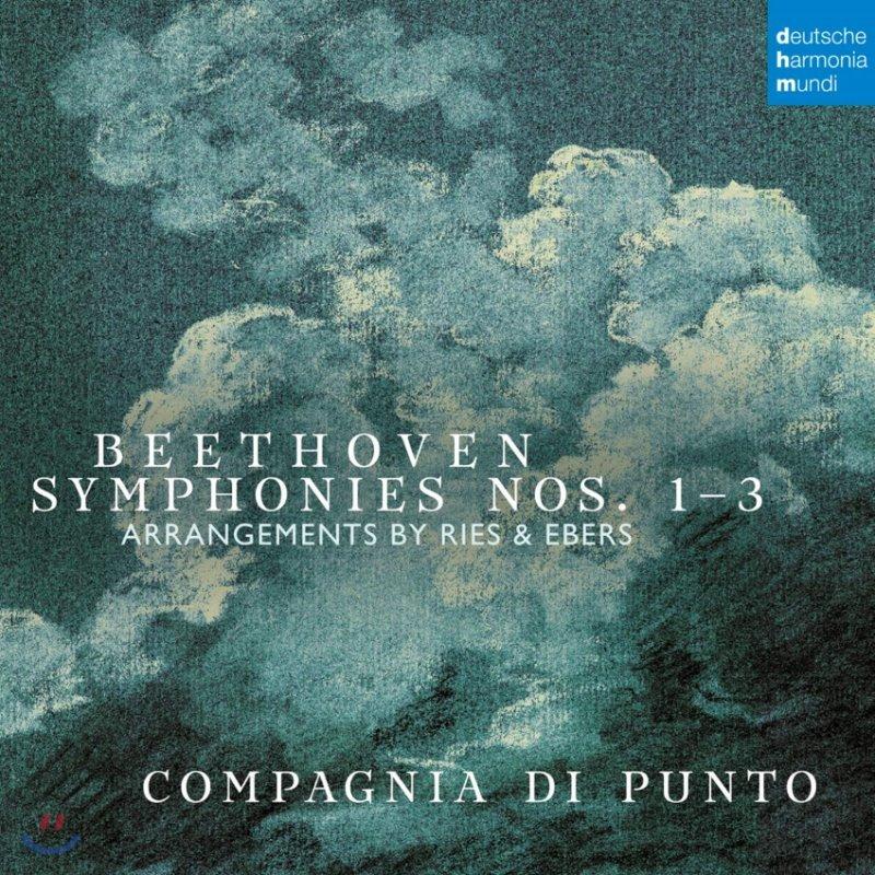 Compagnia Di Punto 베토벤: 교향곡 1, 2, 3번 '영웅' [챔버 앙상블 편곡 버전] (Beethoven: Symphonies Nos. 1-3)