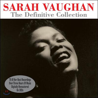 Sarah Vaughan (사라 본) - The Definitve Collection