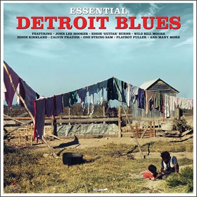 디트로이트 블루스 명곡 모음집 (Essential Detroit Blues) [LP]