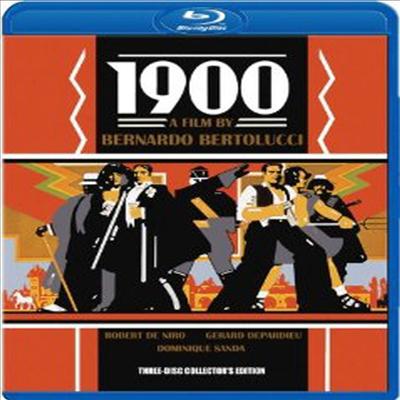 1900 (Three-Disc Collector's Edition) (한글무자막)(Blu-ray) (1977)