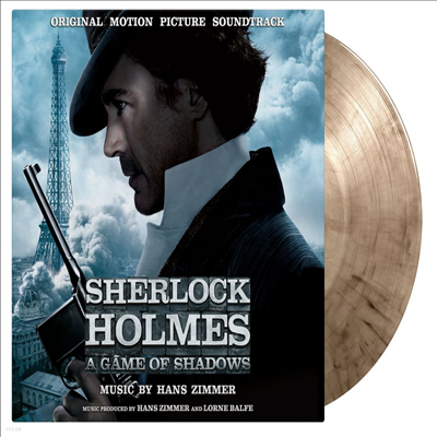 Hans Zimmer - Sherlock Holmes: A Game of Shadows (셜록홈즈 : 그림자 게임) (Soundtrack)(180g Gatefold Colored 2LP)