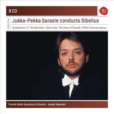 사라스테가 지휘하는 시벨리우스 (Jukka-Pekka Saraste Conducts Sibelius) (8CD Boxset) - Jukka-Pekka Saraste