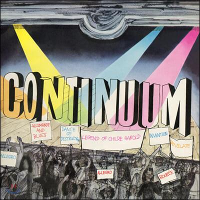Continuum (컨티뉴엄) - 1집 Continuum