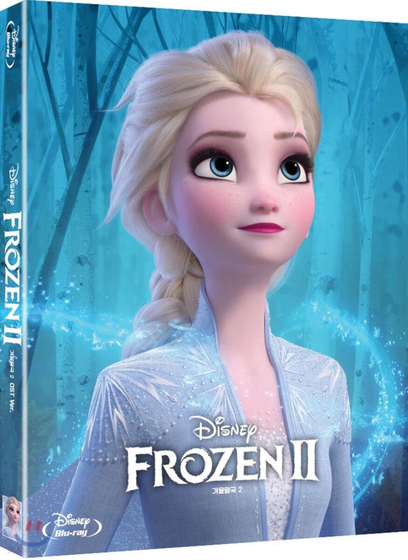 겨울왕국2 (2Disc OST CD 한정판) : 블루레이