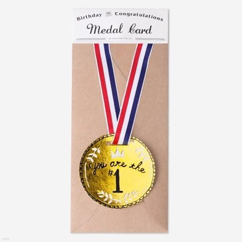 [금박] 메달 카드