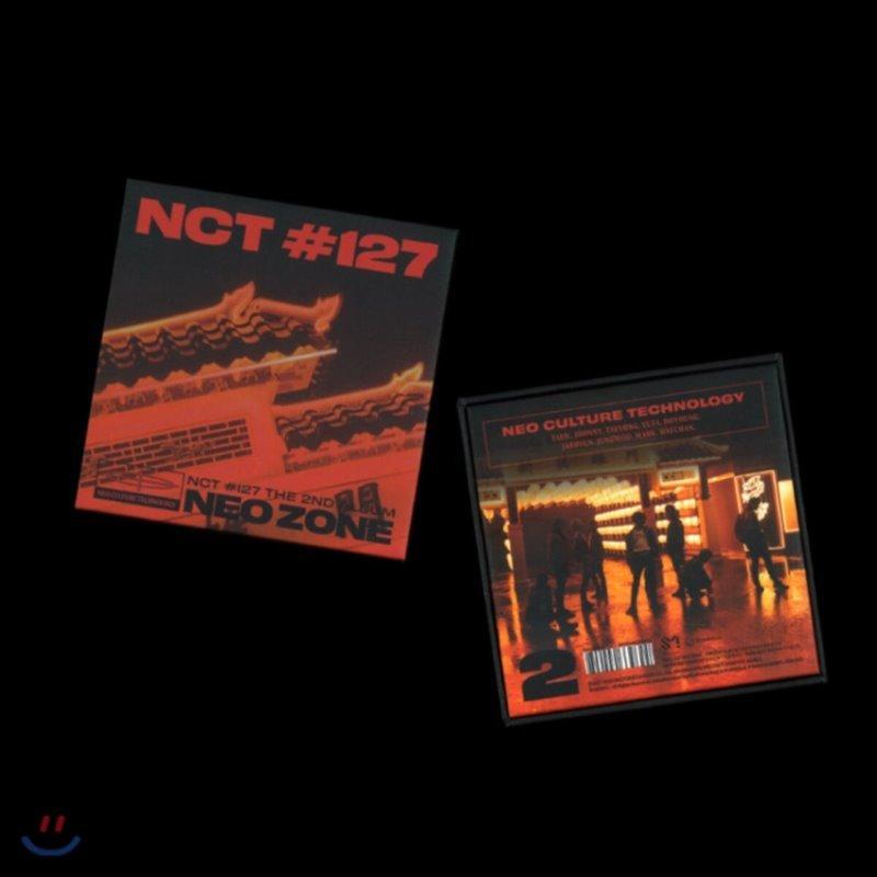 엔시티 127 (NCT 127) 2집 - NCT #127 Neo Zone [스마트 뮤직 앨범(키트 앨범)]