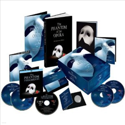 O.S.T. (Andrew Lloyd Webber) - Phantom Of The Opera (25th Anniversary Limited Collection)(4CD+DVD) (Box Set)