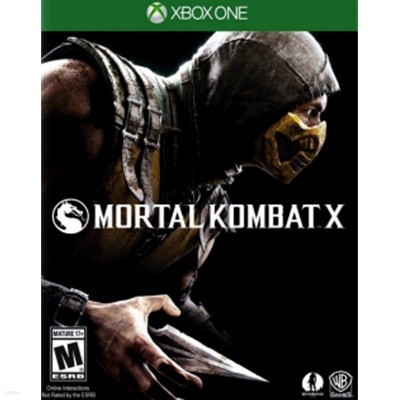 Xbox One - 모탈 컴뱃 X (Mortal Kombat X) (북미판)