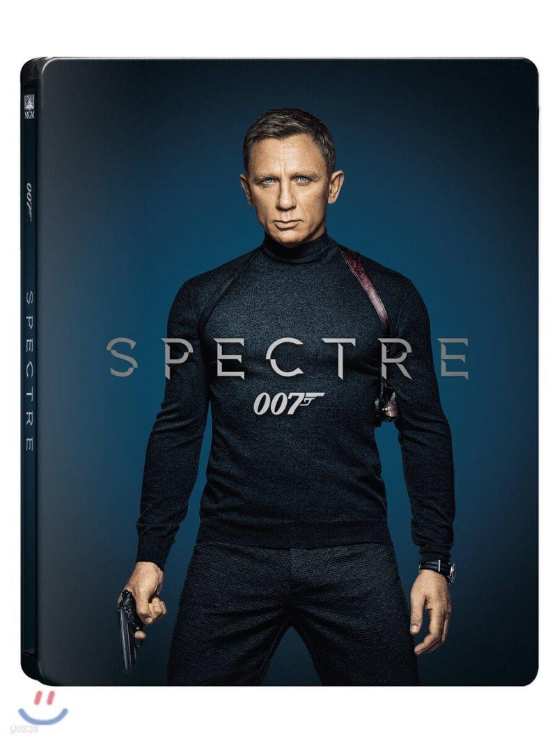 007 스펙터 (2Disc 4K UHD + 2D 스틸북 한정판) : 블루레이
