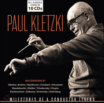파울 클레츠키 지휘 모음집 (Paul Kletzki - Milestones of a Conductor Legend)