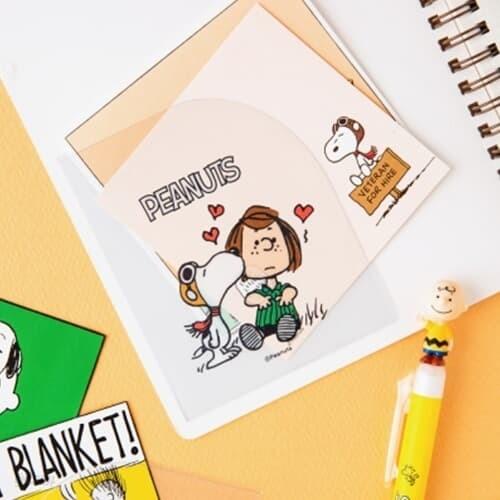[Peanuts] 포켓 스티커 (4종)