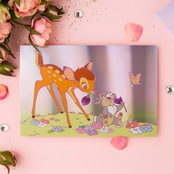 [디즈니] 애니멀 홀로그램 엽서