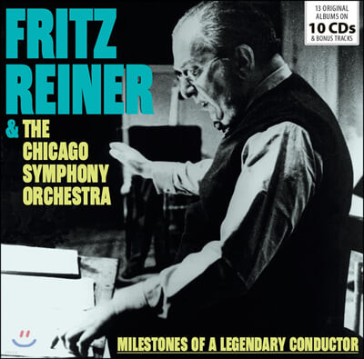 프리츠 라이너 지휘 모음집 (Fritz Reiner & The Chicago Symphony Orchestra)