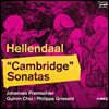 Johannes Pramsohler 피터 헬렌달: 캠브리지 소나타 (Pieter Hellendaal: Cambridge Sonatas)