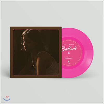 Molly Burch (몰리 버치) - Ballads [7인치 핑크 컬러 Vinyl]