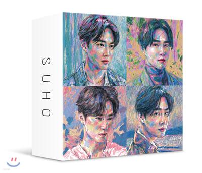 수호 (SUHO) - 미니앨범 1집 : 자화상 (Self-Portrait) [스마트 뮤직 앨범(키트 앨범)]