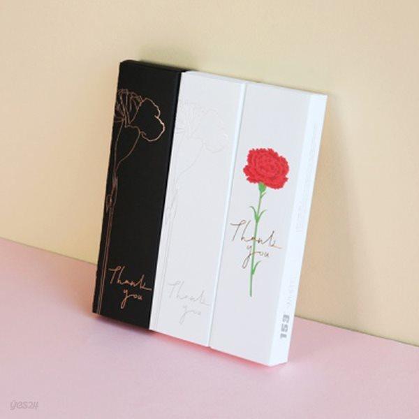 [YES24단독판매]모나미 153 블랙&화이트 카네이션 에디션