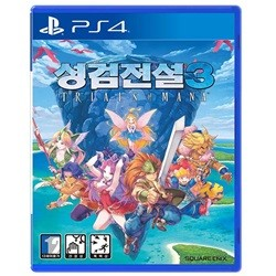 PS4 성검전설3 트라이얼즈 오브 마나 한글 초회판 선주문