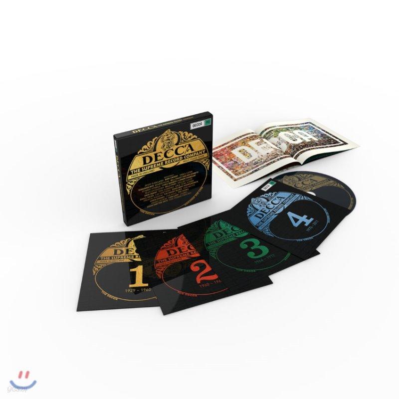 데카 레이블 90주년 기념 - 베스트 팝 & 크로스오버 모음집 (Decca - The Supreme Record Company)