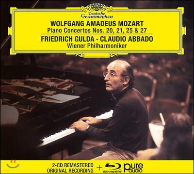 Friedrich Gulda / Claudio Abbado 모차르트: 피아노 협주곡 20, 21, 25, 27번 (Mozart: Piano Concertos K466, 467, 503, 595)