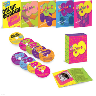 Various Artists - Time Life Loves The '80s Collection (9CD Box Set)