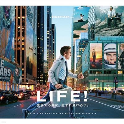 O.S.T. - The Secret Life Of Walter Mitty (월터의 상상은 현실이 된다) (Soundtrack)(Ltd. Ed)(일본반)
