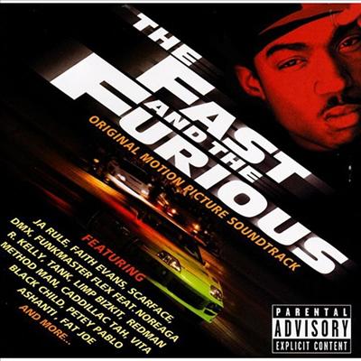 O.S.T. - The Fast And The Furious (분노의 질주) (Soundtrack)(Ltd. Ed)(Japan Bonus Track)