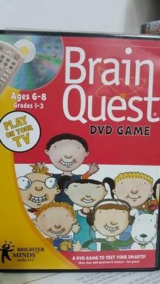 Brain quest/ dvd game cd1장