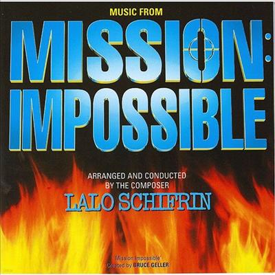 Lalo Schifrin - Mission Impossible (미션 임파서블) (Soundtrack)(Ltd. Ed)(일본반)