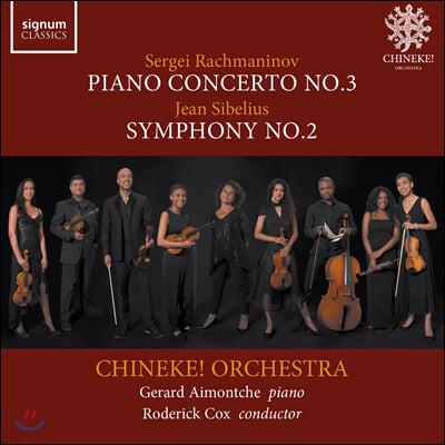 Roderick Cox / Chineke! Orchestra 라흐마니노프: 피아노 협주곡 3번 / 시벨리우스: 교향곡 2번