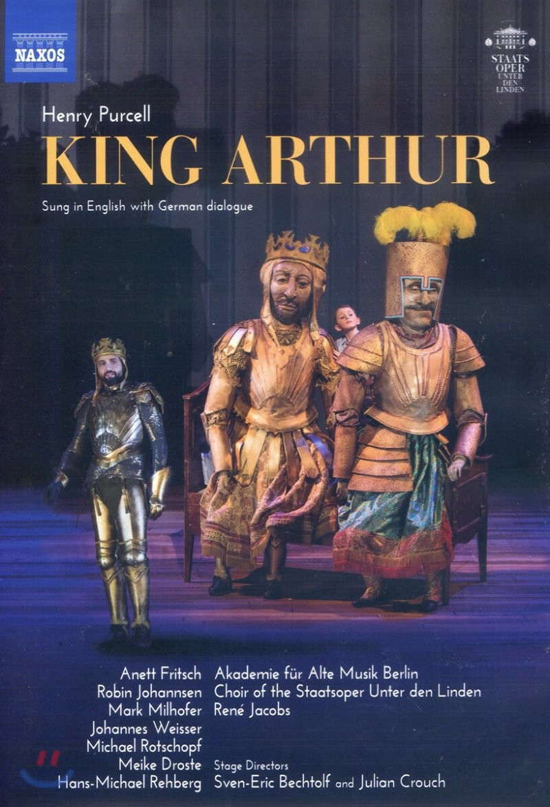 Rene Jacobs 퍼셀: 오페라 '아더 왕' (Purcell: King Arthur)