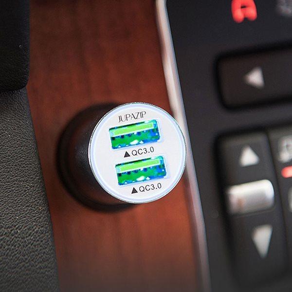 주파집 퀵차지3.0 PD 듀얼포트 차량용 충전기
