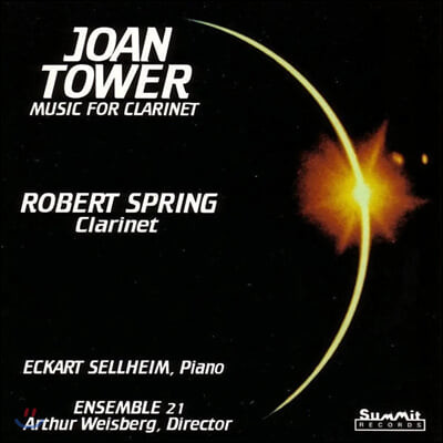 Robert Spring 조안 타워: 클라리넷을 위한 음악 (Joan Tower: Music for Clarinet)
