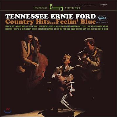 Tennessee Ernie Ford (테네시 어니 포드) - Country Hits...Feelin' Blue [LP]