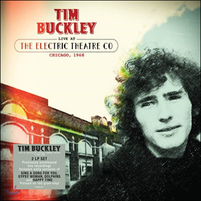 Tim Buckley (팀 버클리) - Live At The Electric Theatre Co Chicago, 1968 [2LP]