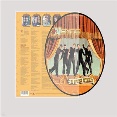 N Sync - No Strings Attached (20th Anniversary Edition)(Picture LP)